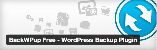 Extension wordpress pour sauvegarde dump