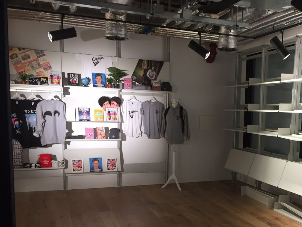 Youtube Creator store Londres