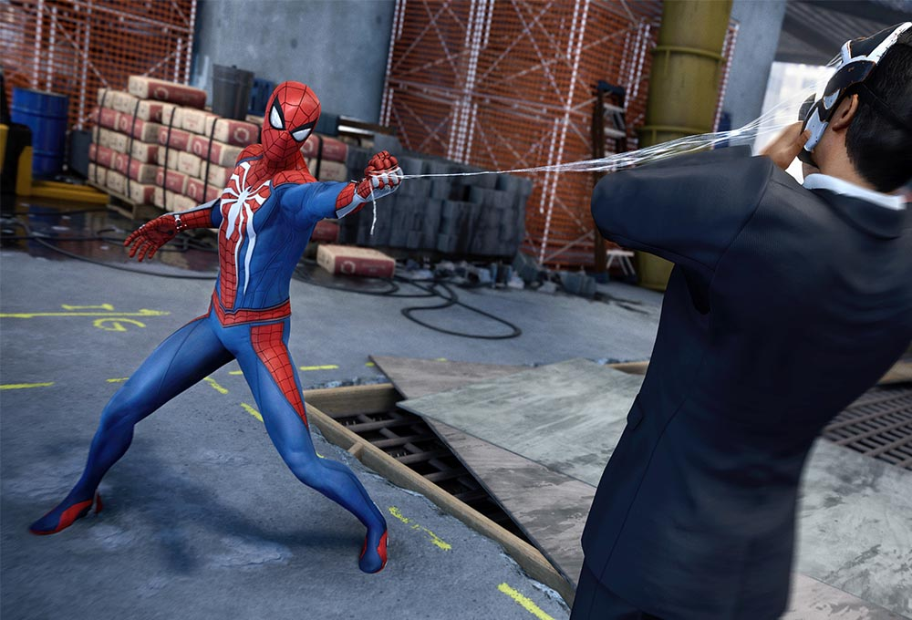 la sortie de spiderman jeux vid o est pour bient t sur ps4. Black Bedroom Furniture Sets. Home Design Ideas
